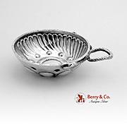 Antique Figural Snake Taste Vin 950 Sterling Silver France 1890
