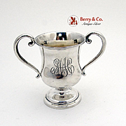 Small Trophy Cup Sterling Silver 1940