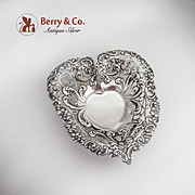 SALE Heart Footed Bowl Gorham 1892 Sterling Silver No Monogram