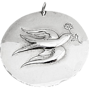 First Edition Christmas Ornament Towle Sterling Silver 1971