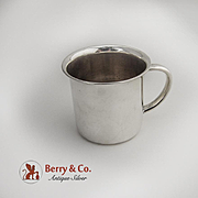 Baby Cup Sterling Silver Wallace 1940