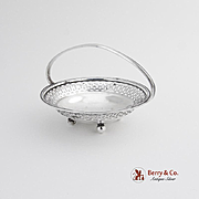 Small Basket Sterling Silver Watrous 1920