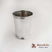 Mint Julep Cup Sterling Silver Benjamin Trees