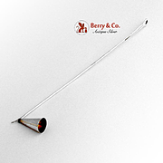 Tiffany and Company Padova Long Candle Snuffer Sterling Silver by Elsa Peretti