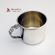 Royal danish Baby Cup Sterling Silver International 1939