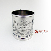 Aesthetic Cup Sterling Silver Whiting 1888