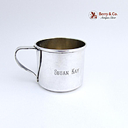 Baby Cup Sterling Silver Wallace 1950