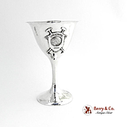 SALE PENDING Del Monte Country Club Polo Trophy Sterling Silver Shreve 1920