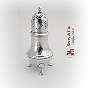 Tiffany And Co Colonial Revival Shaker Sterling Silver 1960