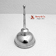 Tiffany And Co Oil Can Vermouth Dispenser Sterling Silver