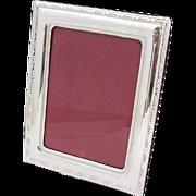 Vintage Italian Rectangular Picture Frame Sterling Silver