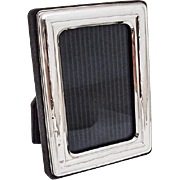 Vintage Small Rectangular Picture Frame Sterling Silver Italy