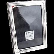 Vintage Italian Rectangular Picture Frame Sterling Silver 1970