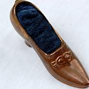 REDUCED Victorian Figural Shoe Pin Cushion