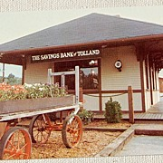 Vintage Post Card The Savings Bank Of Tolland Conn.