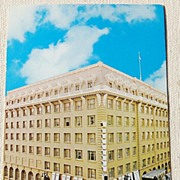 REDUCED Vintage Postcard Bellevue Hotel San Francisco California