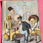REDUCED Trade Card Jacksons Best Tobacco
