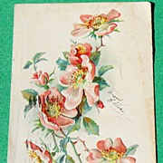 1907 Raphael Tuck & Sons Floral Post Cards Series No.120