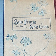 REDUCED 1893 1St Edition Sun Prints In Sky Tints Irene A. Jerome