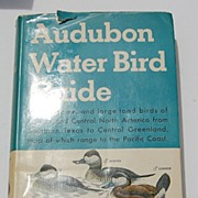 REDUCED 1951 1St Edition Audubon Water Bird Guide By Richard H. Pough