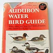 SALE 1951 Audubon Water Bird Guide By Richard H. Pough
