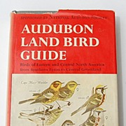 REDUCED 1949 Audubon Land Bird Guide By Richard H. Pough