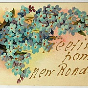1907 Greetings From New Roads, Louisiana Postcard