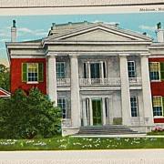 Vintage Postcard Melrose Plantation Natchez Mississippi