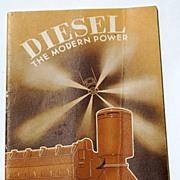 REDUCED 1936 Diesel The Modern Power
