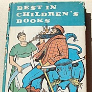 REDUCED 1960 Best In Children's Books #29