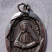 Sterling Silver St. Francis Xavier Cabrini Medal