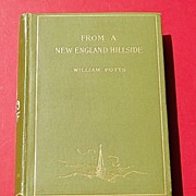 SALE 1895 From A New England Hillside By William Potts