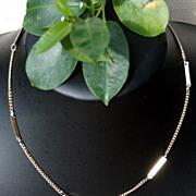 """SALE Vintage Gold Tone Metal 16"""" Chain/Necklace"""