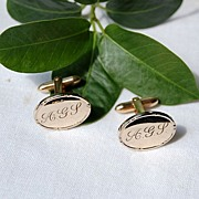 REDUCED Vintage 14K Gold Filled Cuff Links