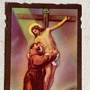 1951 Catholic Prayer Card Rev. John S. Kubacki