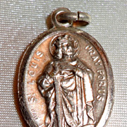 REDUCED Vintage Silver Tone St. Louis Medal