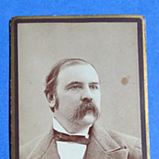 Victorian Cabinet Card Farmington N. H. Man