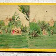 SALE 1868 Stereoview No. 6208 Central Park
