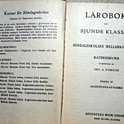 SALE 1925 Swedish  Lutheran Prayer Book
