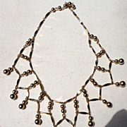 REDUCED Vintage Gold Tone Necklace
