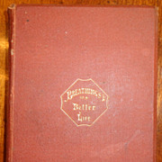 REDUCED 1St Edition 1867 Breathings Of The Better Life