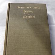 SALE 1891 Sursum Corda Hymns Of Comfort