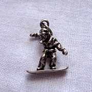 Vintage Sterling SIlver Suffer Charm
