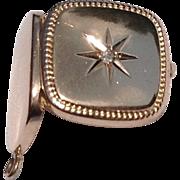 REDUCED Vintage 10K Gold Diamond Locket