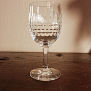 REDUCED Vintage Baccarat Cordial Glass
