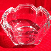 REDUCED Vintage Glass Master Salt Dish