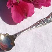 SALE Vintage Sterling Silver Galt & Bro. Master Salt Spoon