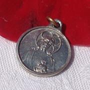 SOLD Tiny Aluminum Scapular Medal