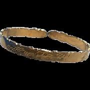 REDUCED Wonderful 10K Gold Child's 1St Birthday Bracelet