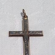 Vintage Gold Filled Cross